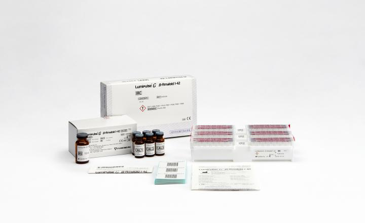 Lumipulse G β-Amyloid 1-42 Immunoreaction Cartridges (230336) and Lumipulse G β-Amyloid 1-42 Calibrators (230343)