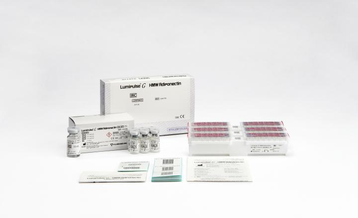 Lumipulse G HMW Adiponectin Immunoreaction Cartridges (234778) and Lumipulse G HMW Adiponectin Calibrators (234785)