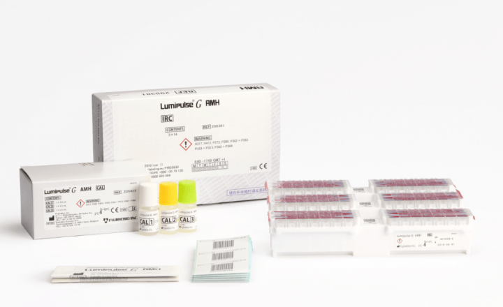 Lumipulse® G AMH Immunoreaction Cartridges (298381) and Lumipulse® G AMH Calibrators (235423)